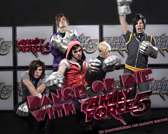 Family Force 5 Interview Quot Dance Or Die Ep Quot Family Force